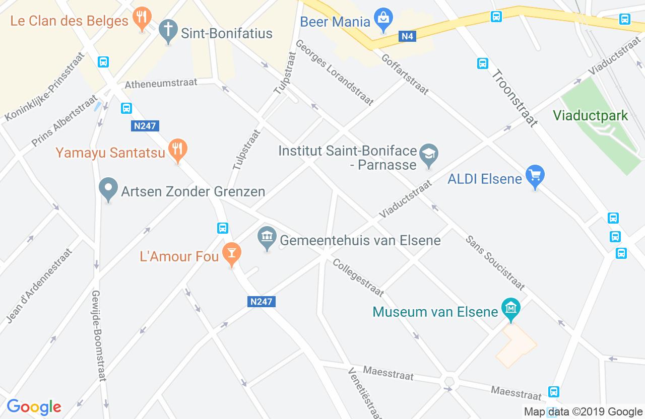 De Wimpel, Cansstraat 14, 1050 Elsene