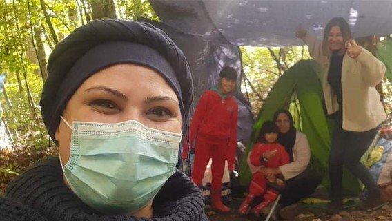 Help samen met Leyla de vluchtelingen in Duinkerke