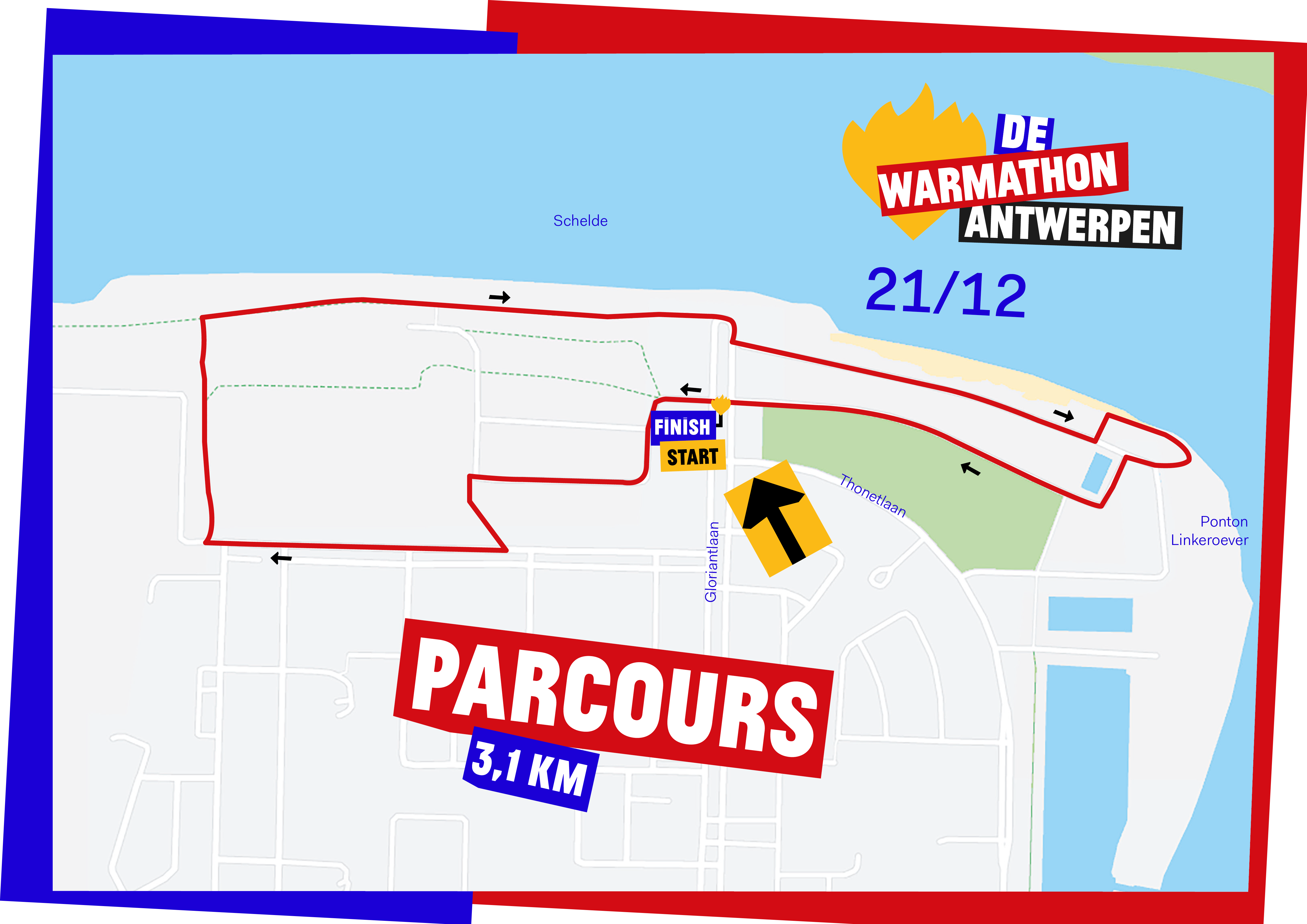 DWW19 Parcours-A3-Antwerpen