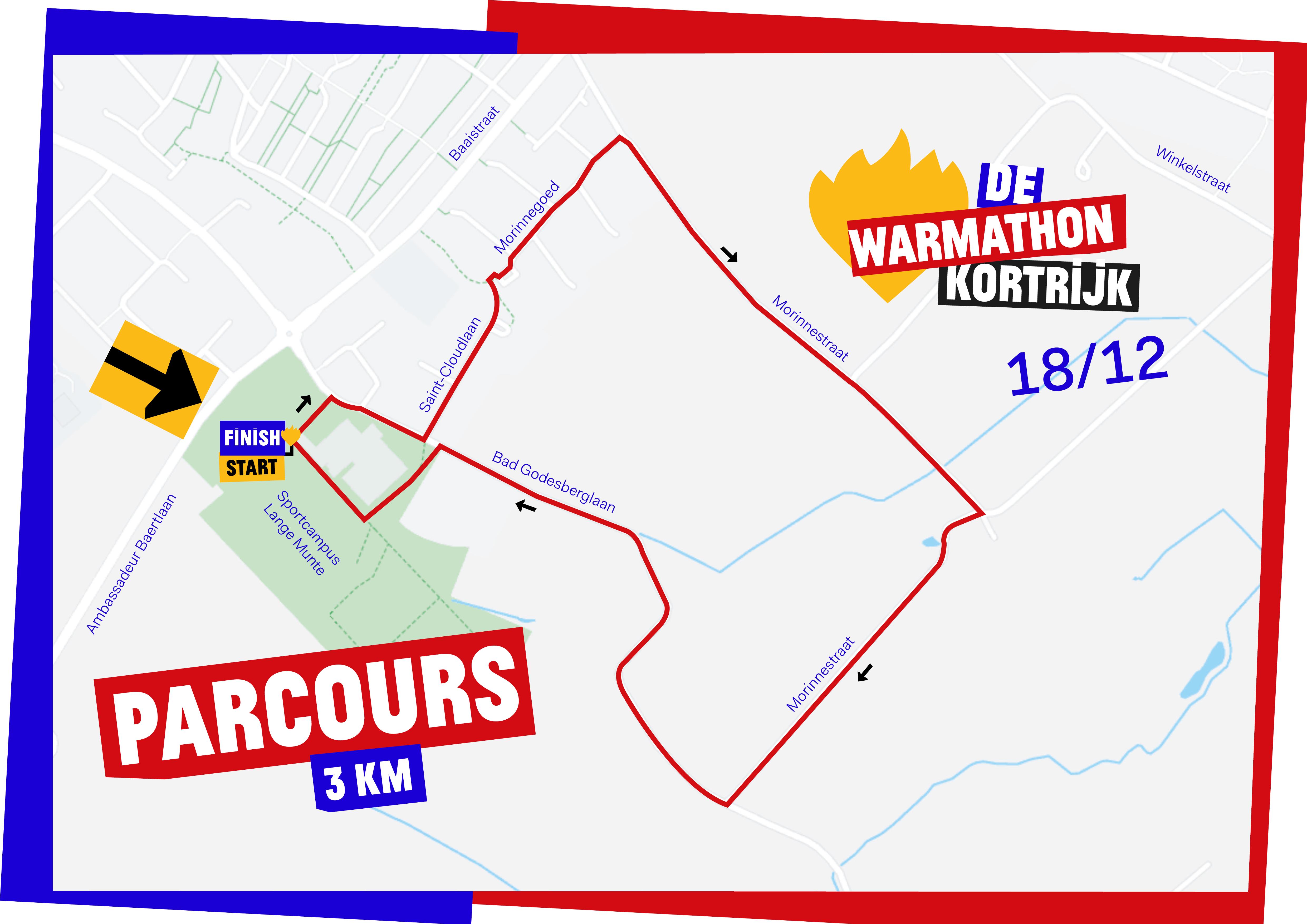 DWW19 Parcours-A3-Kortrijk