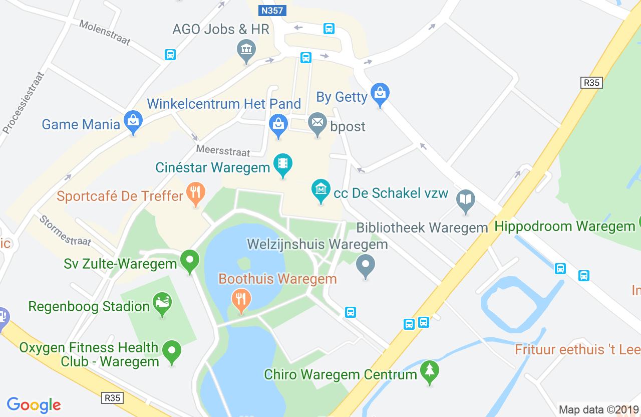 cc De Schakel vzw, Schakelstraat 8, 8790 Waregem