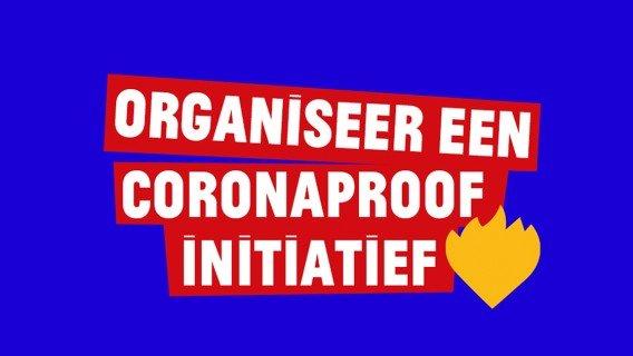 Hoe organiseer ik een coronaproof initiatief?