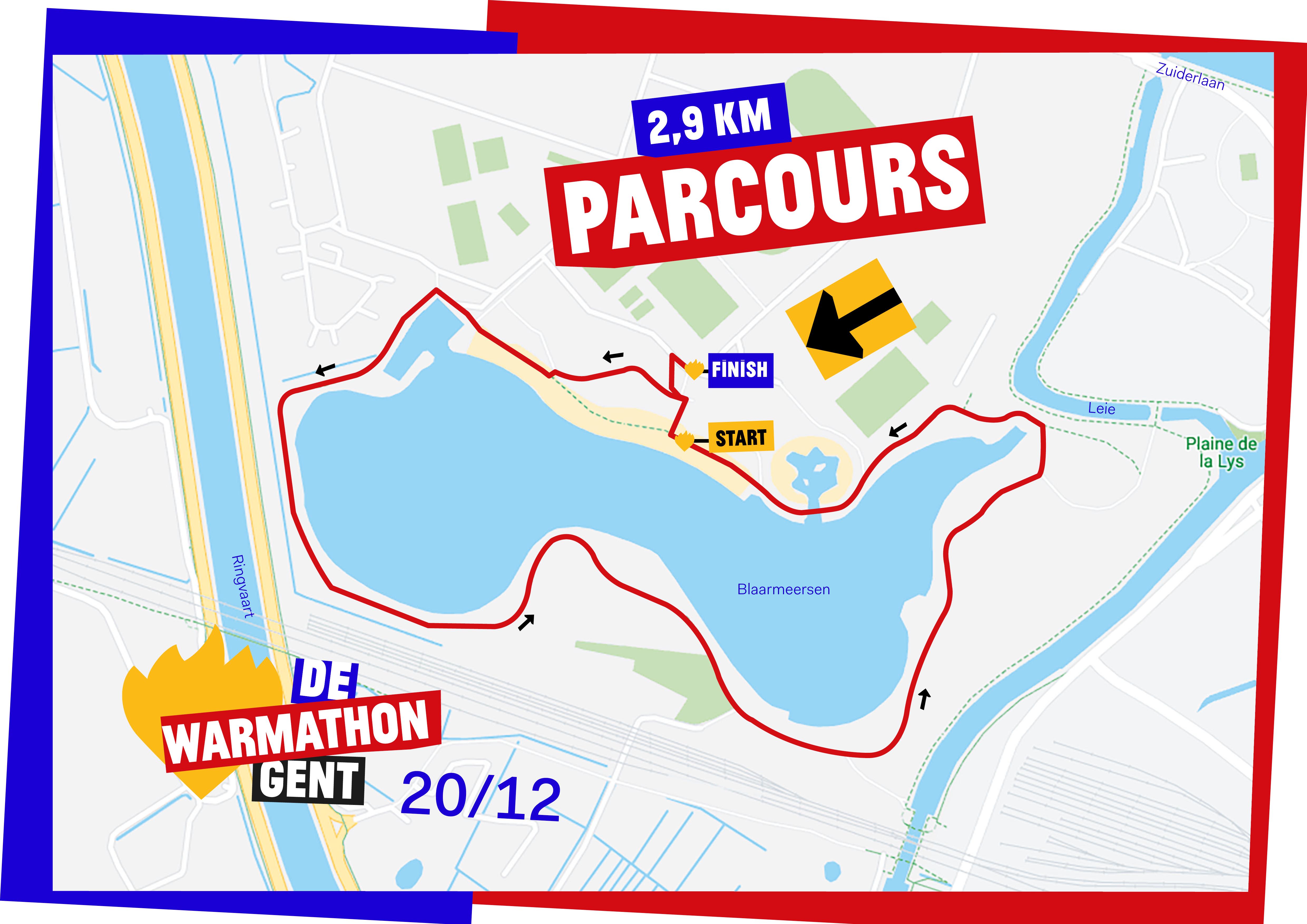 DWW19 Parcours-A3-Gent