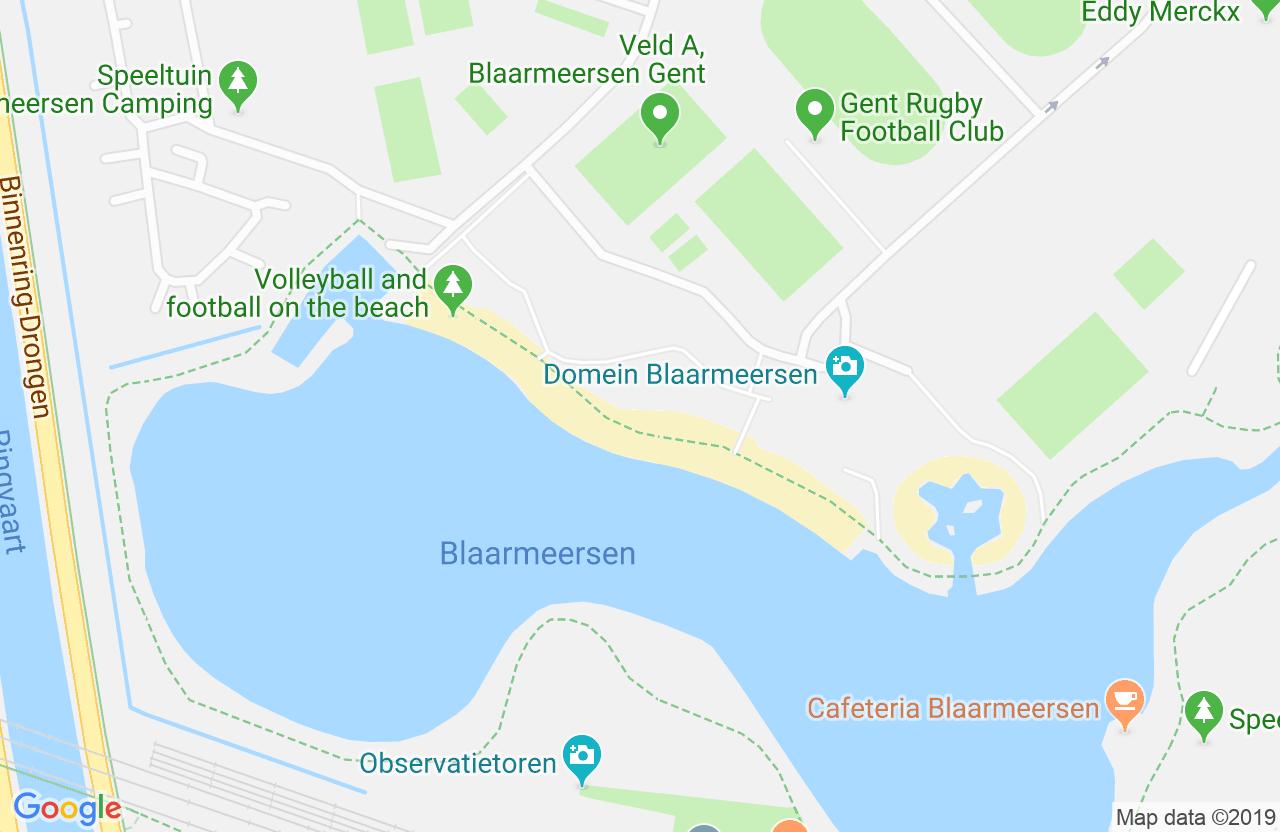 Blaarmeersen, Strandlaan 24, 9000 Gent